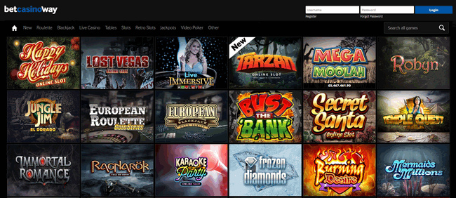 Betway casino review betting casino free online